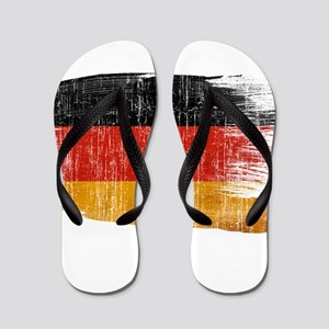 Germany Flag Flip Flops